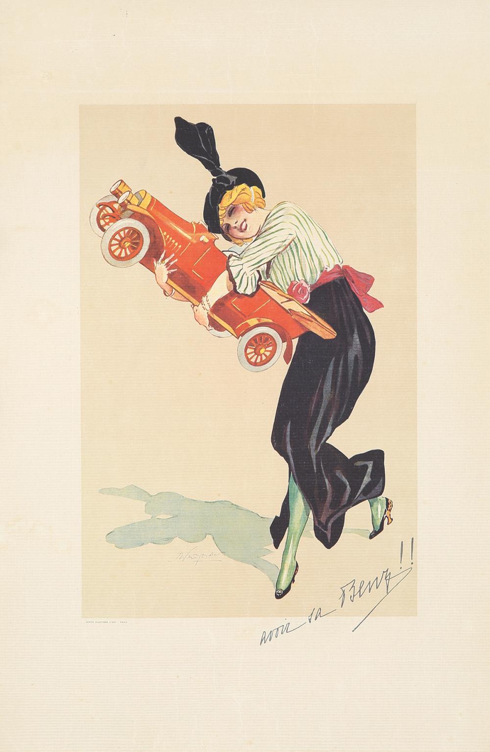 Avoir la Benz. ca. 1922.
