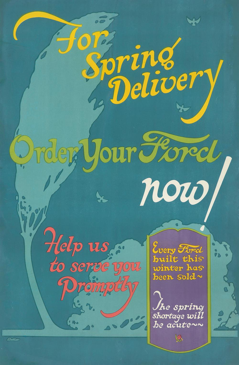 Ford : 3 Posters. 1923.
