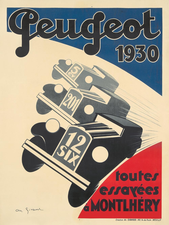 Peugeot. 1930.