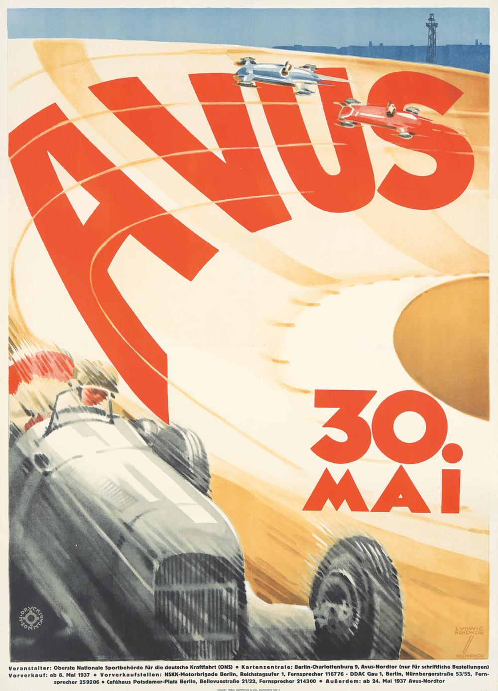AVUS. 1937.
