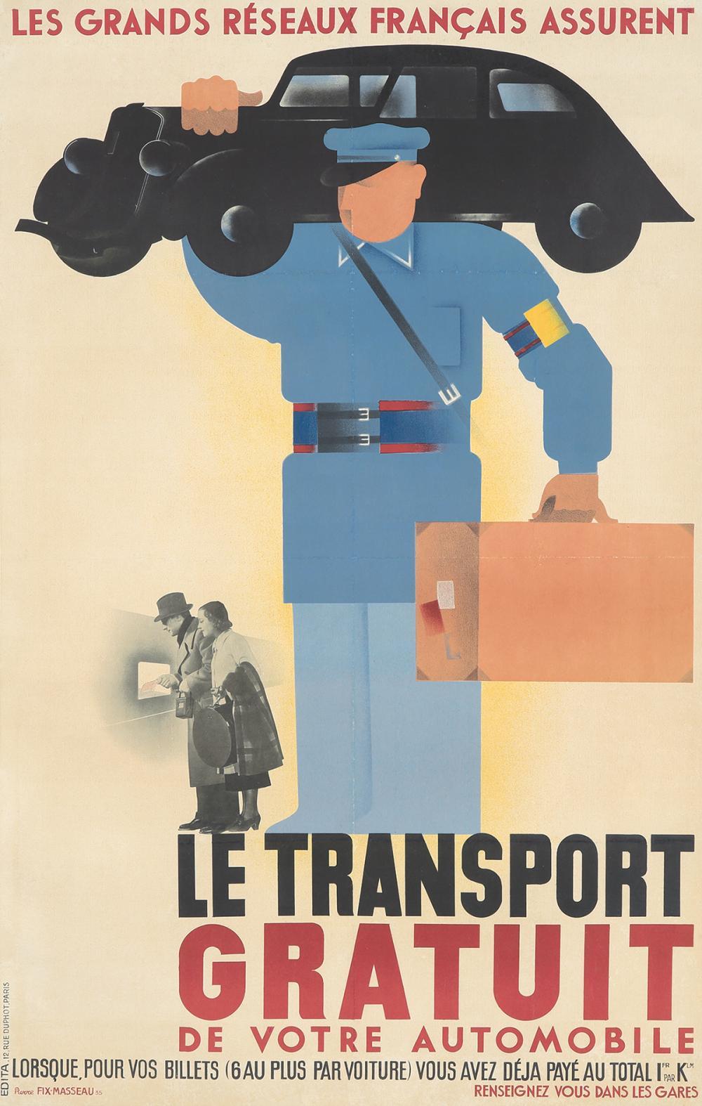 Le Transport Gratuit. 1935.