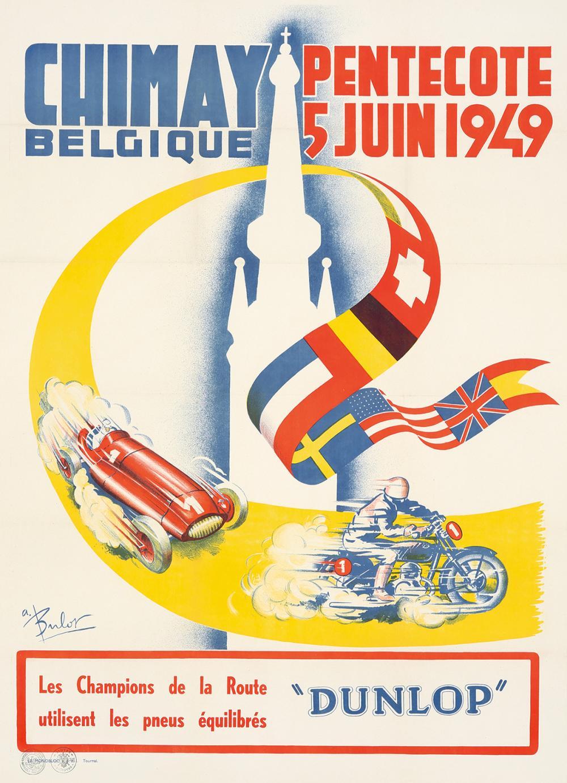 Chimay Belgique. 1949.