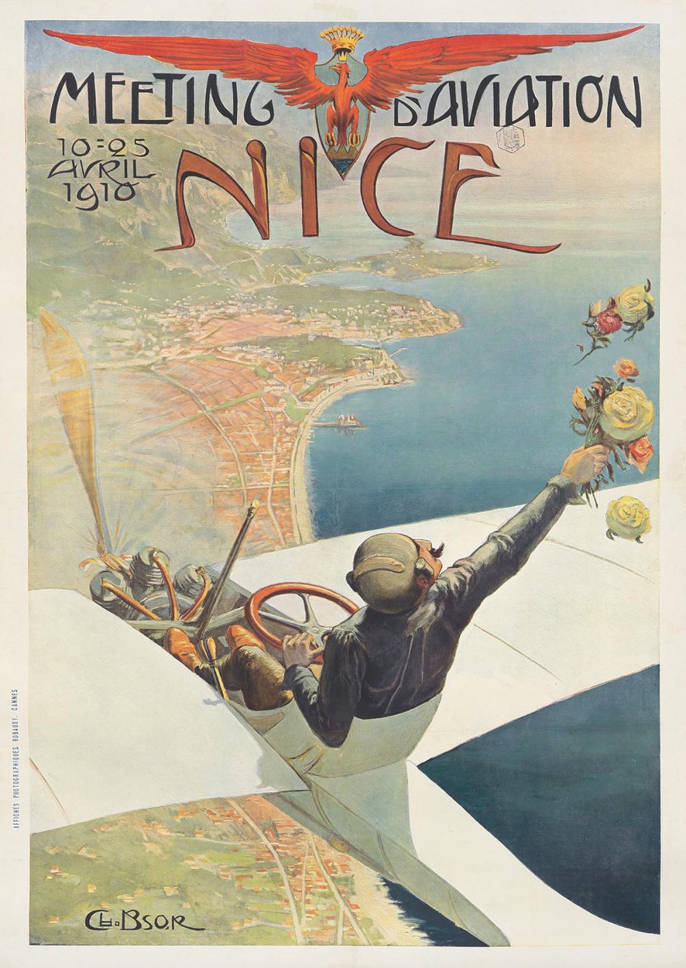 Meeting d'Aviation / Nice. 1910.