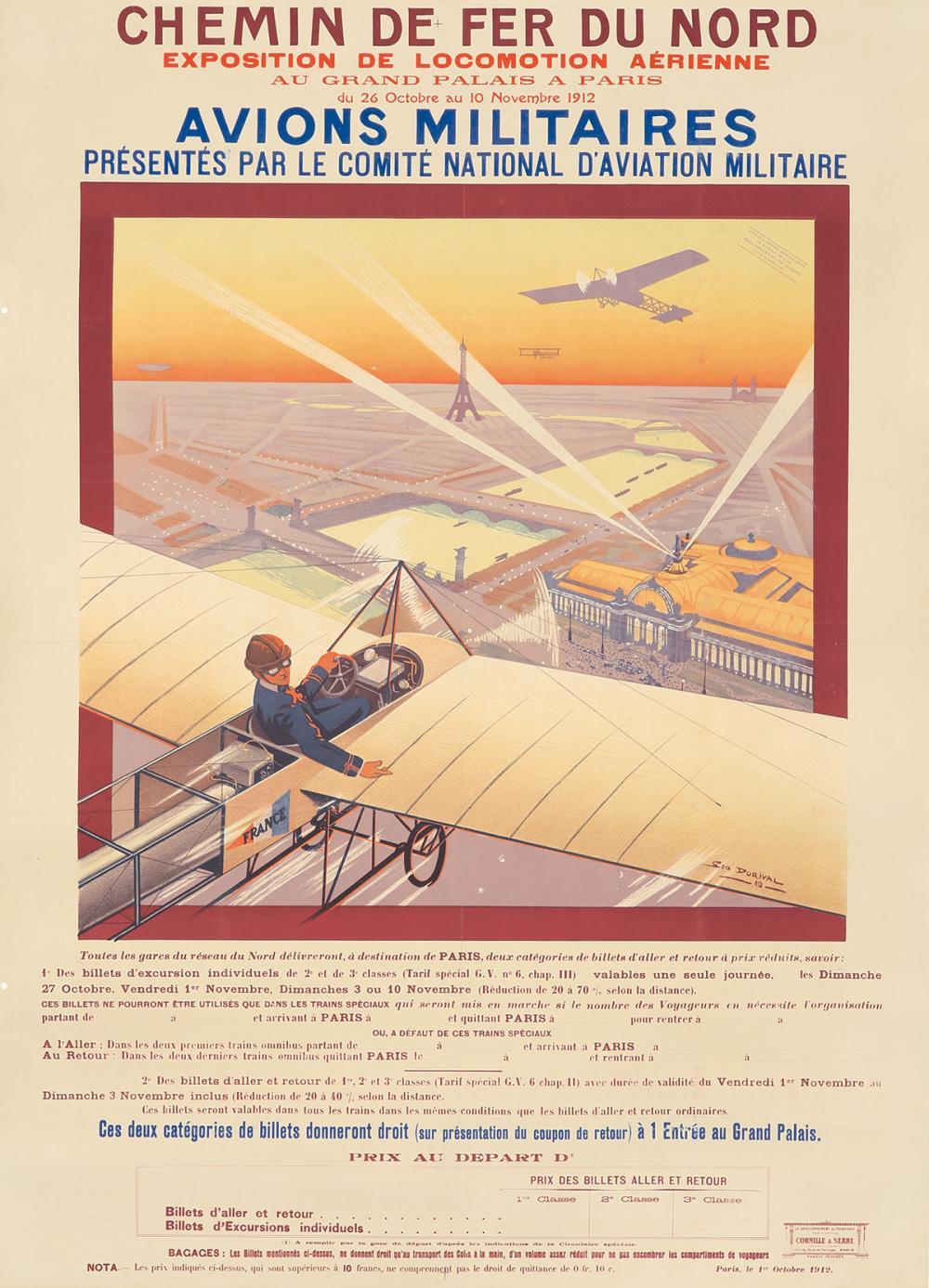 Exposition de la Locomotion Aerienne / Avions Militaires. 1912.