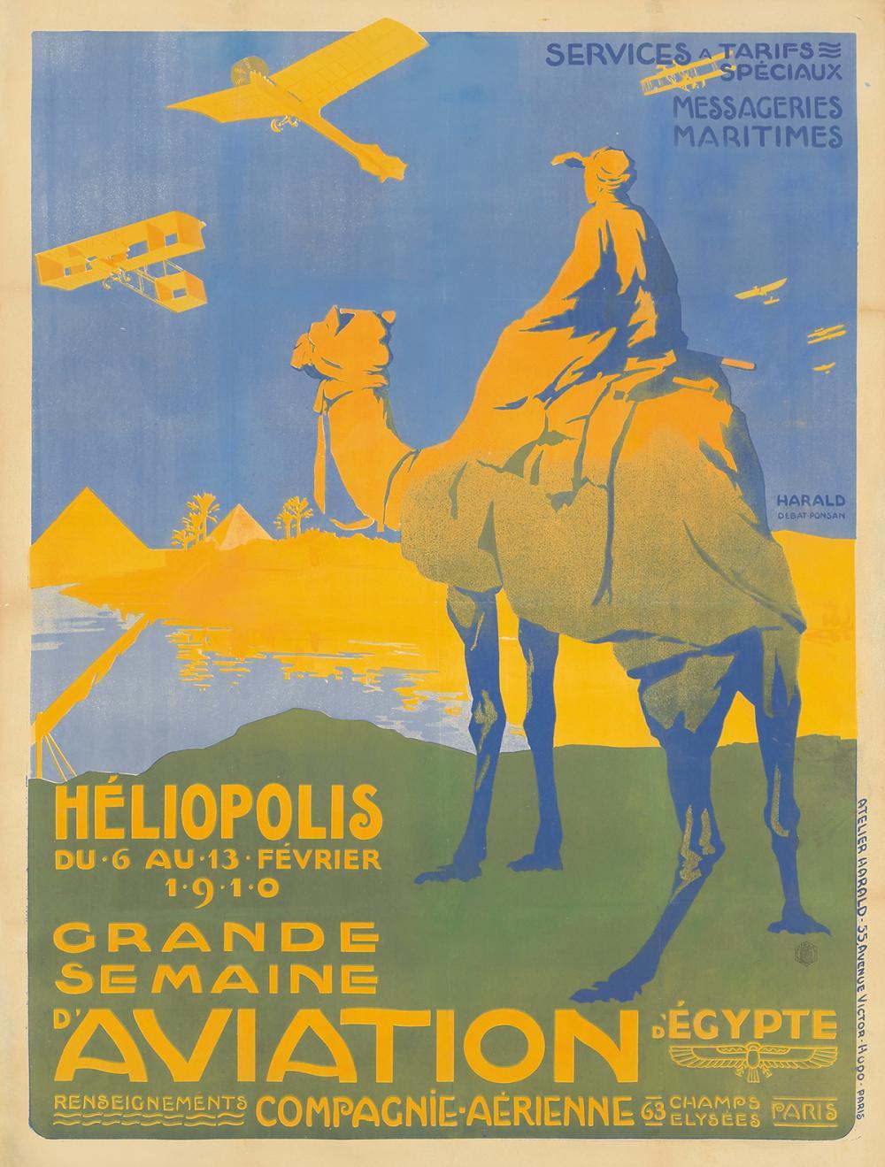 Grande Semaine d'Aviation d'Égypte / Héliopolis. 1910.