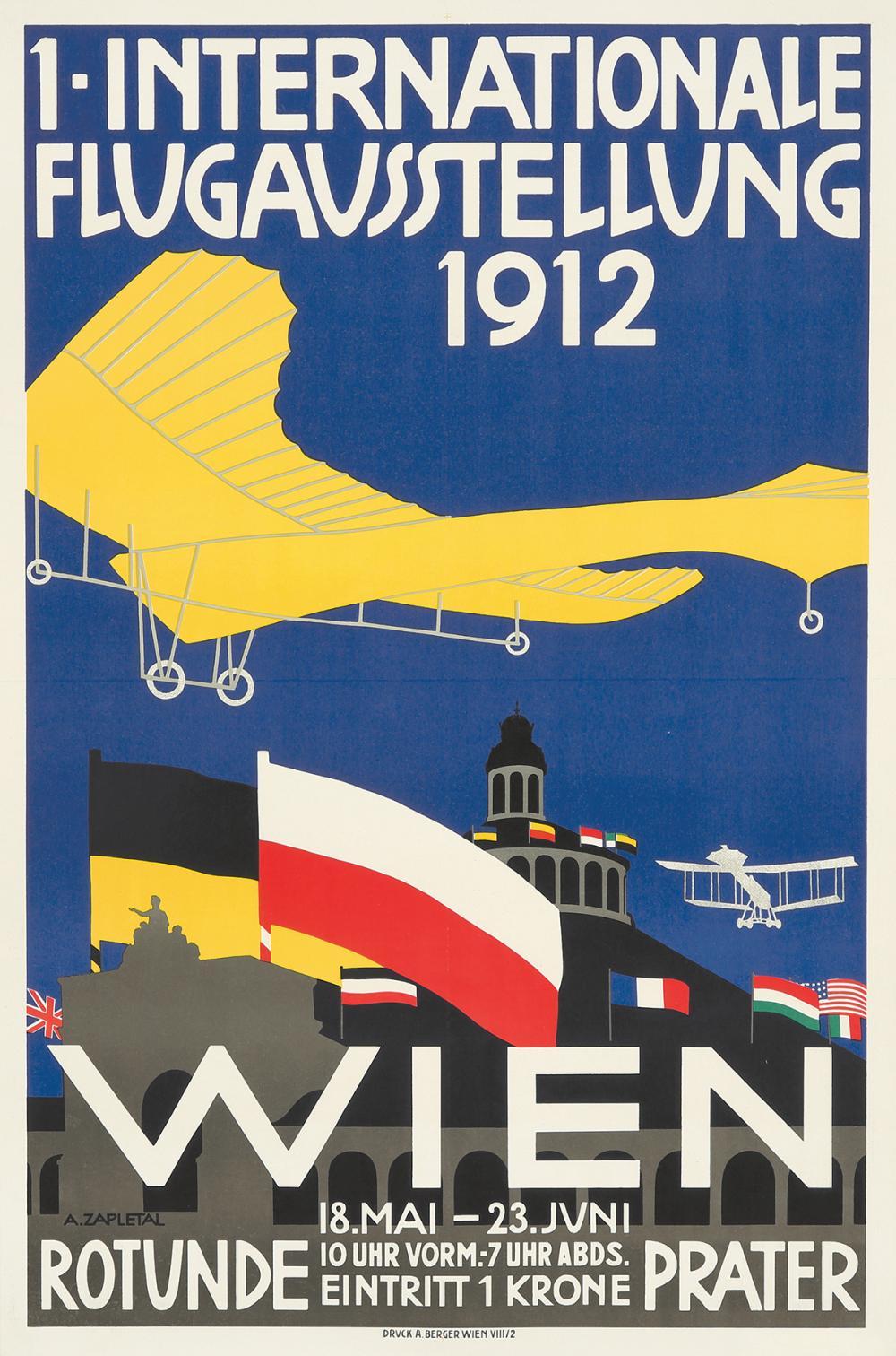 Internationale Flugausstellung. 1912.
