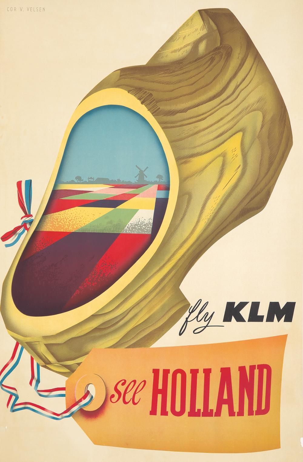 KLM / Holland. ca. 1950s.