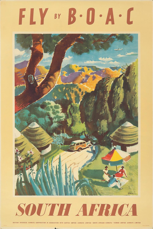 BOAC / South Africa. ca. 1952.