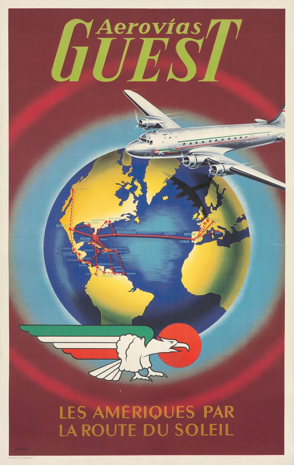 Aerovias Guest. ca. 1960s.