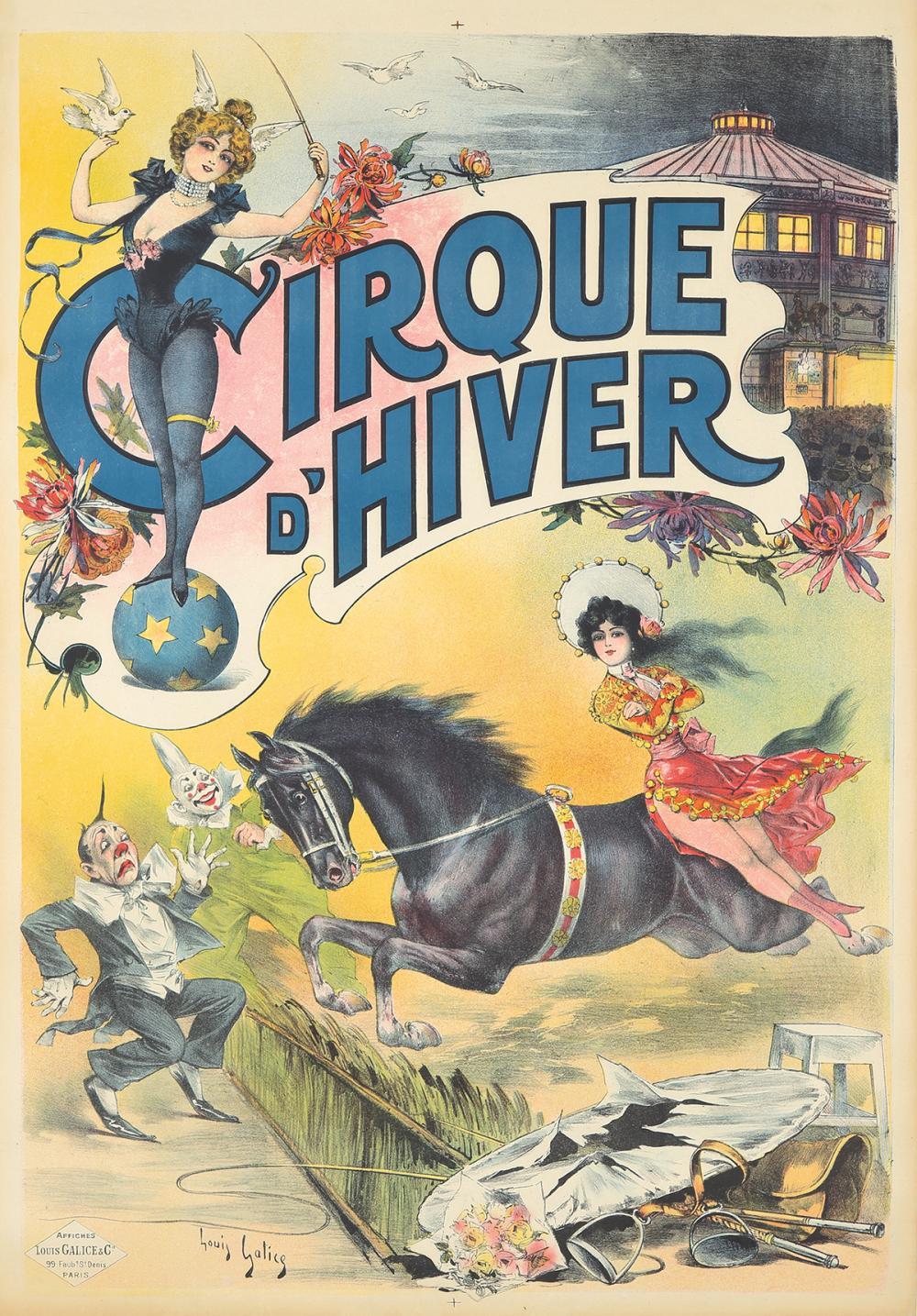 Cirque d'Hiver. ca. 1890.