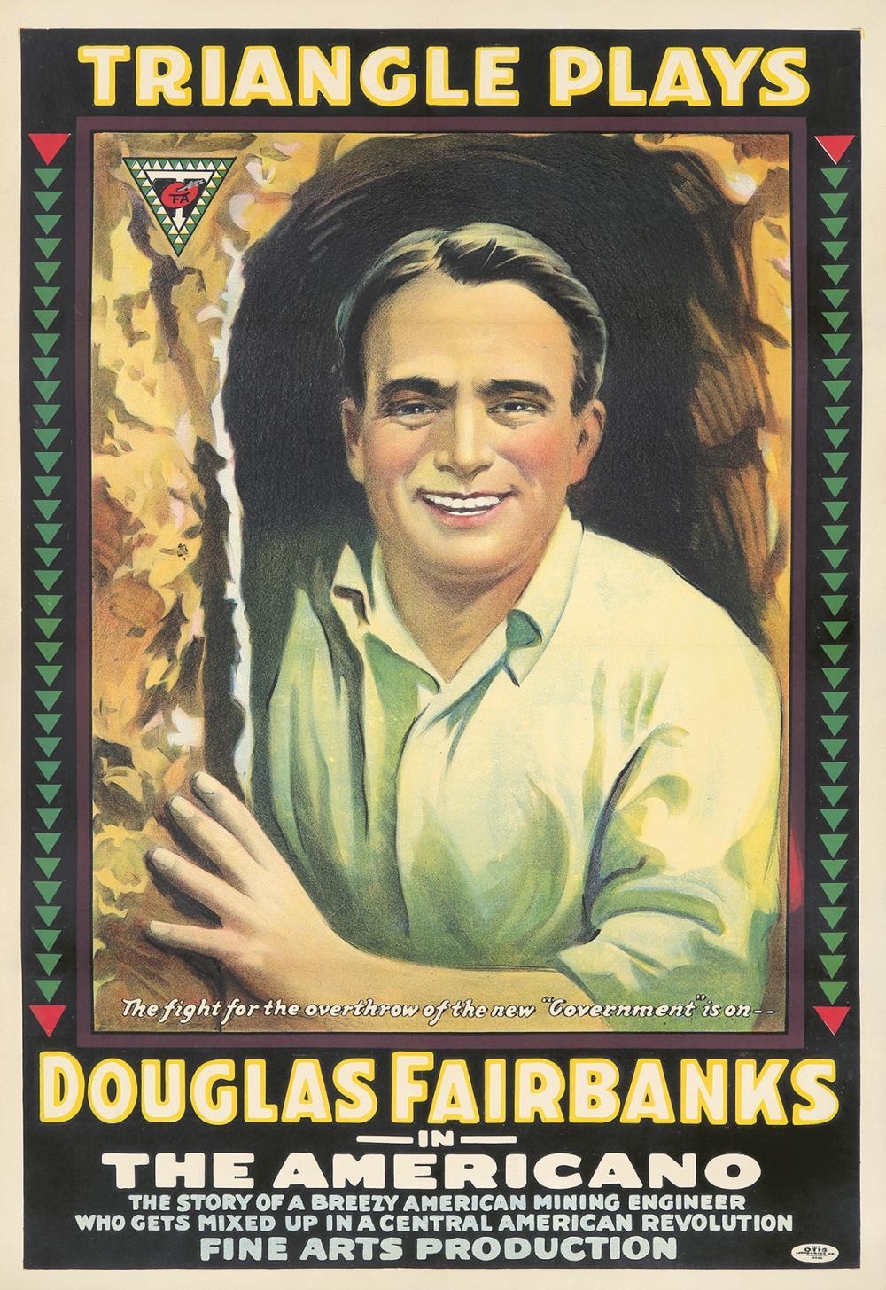 Douglas Fairbanks / The Americano. ca. 1916.
