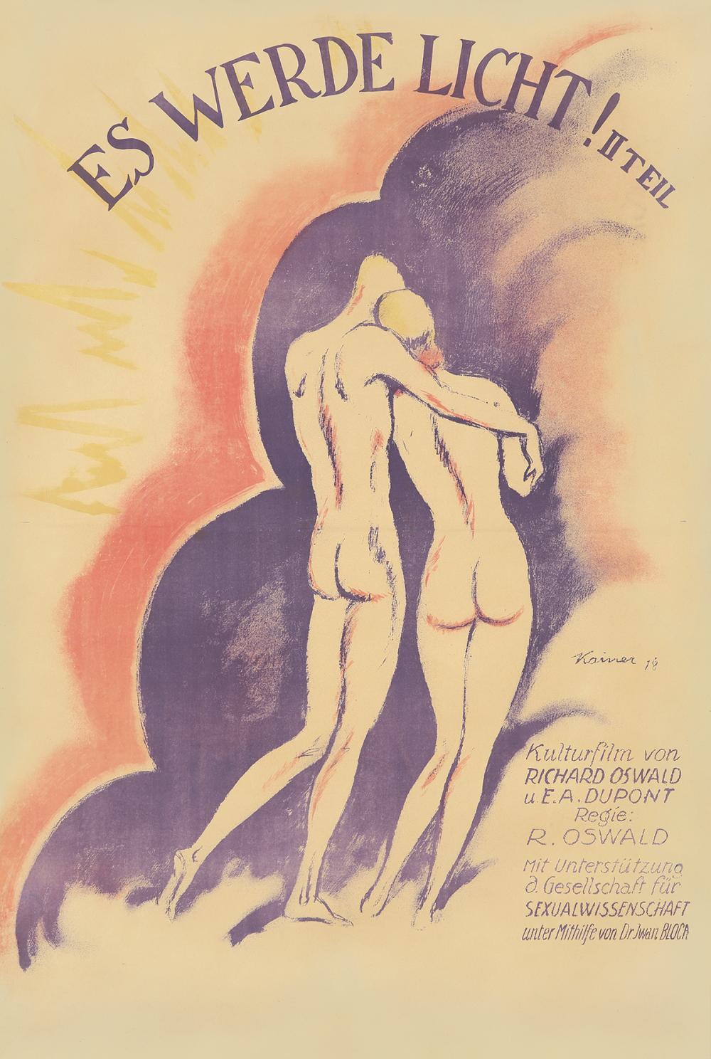 Es Werde Licht. 1918.