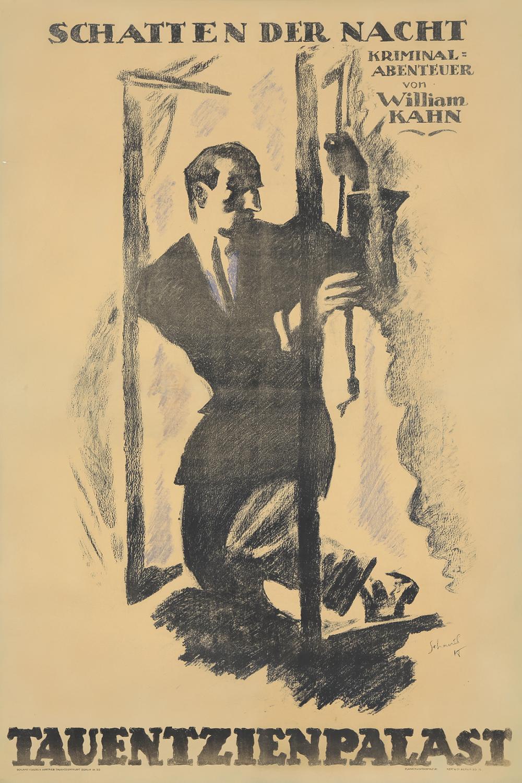 Schatten der Nacht. 1918.