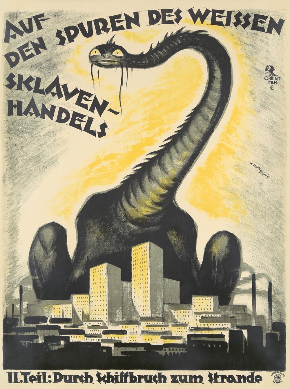 Auf den Spuren des weissen Sklavenhandels. 1922.
