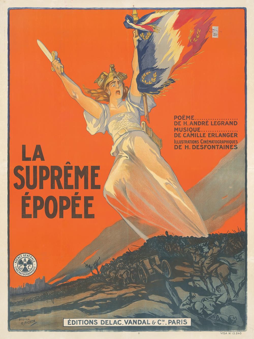 La Suprême Épopée. 1919.