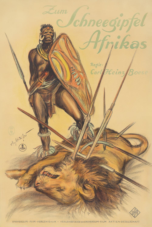 Zum Schneegipfel Afrikas. ca. 1924.