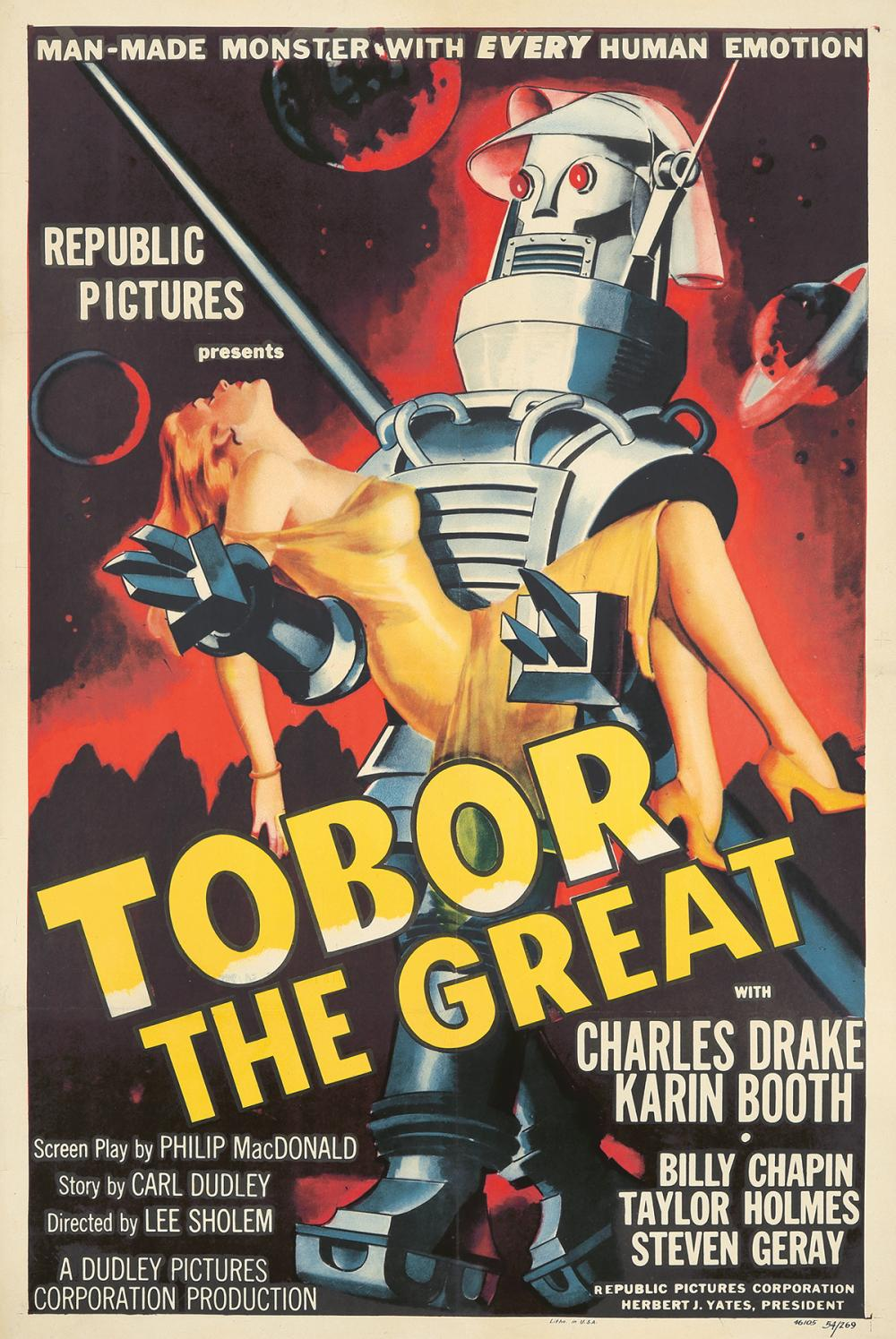Tobor the Great. 1954.