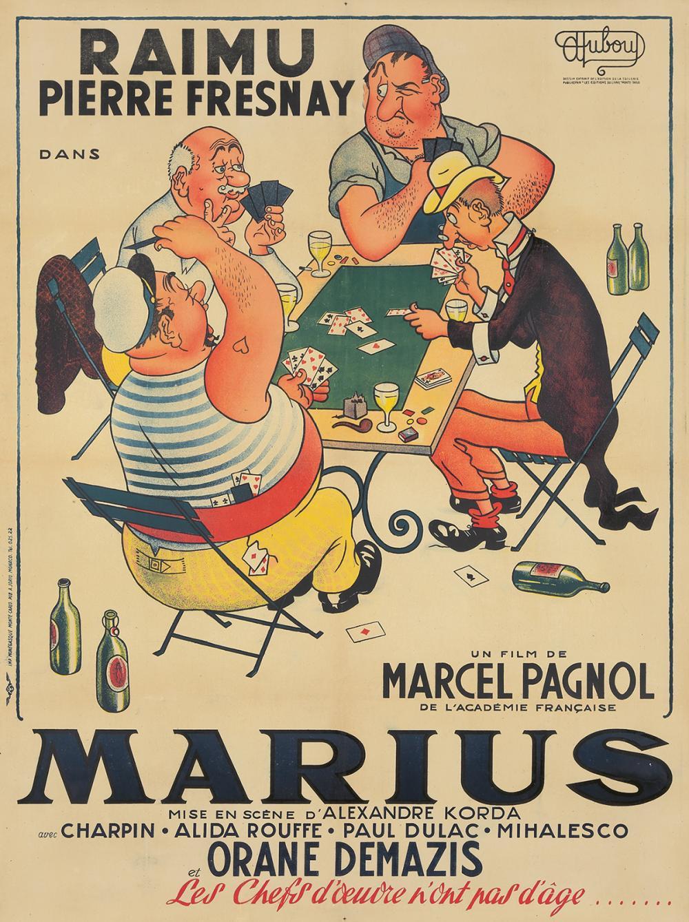 Marius. 1931.