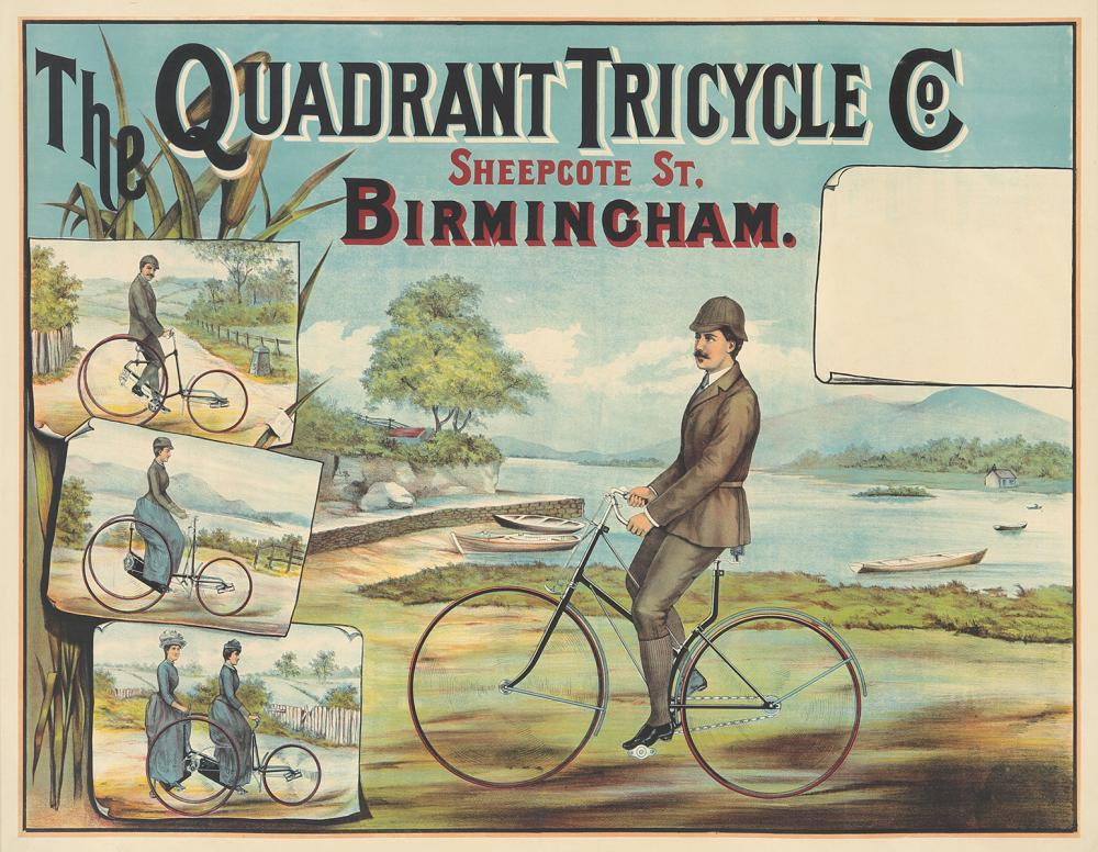 The Quadrant Tricycle Co. ca. 1887.