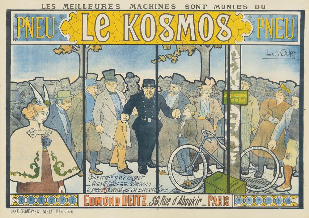 Le Kosmos. ca. 1895.