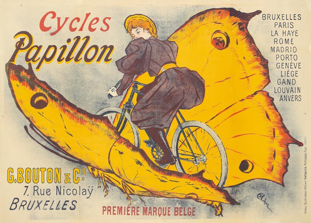 Cycles Papillon. 1896.