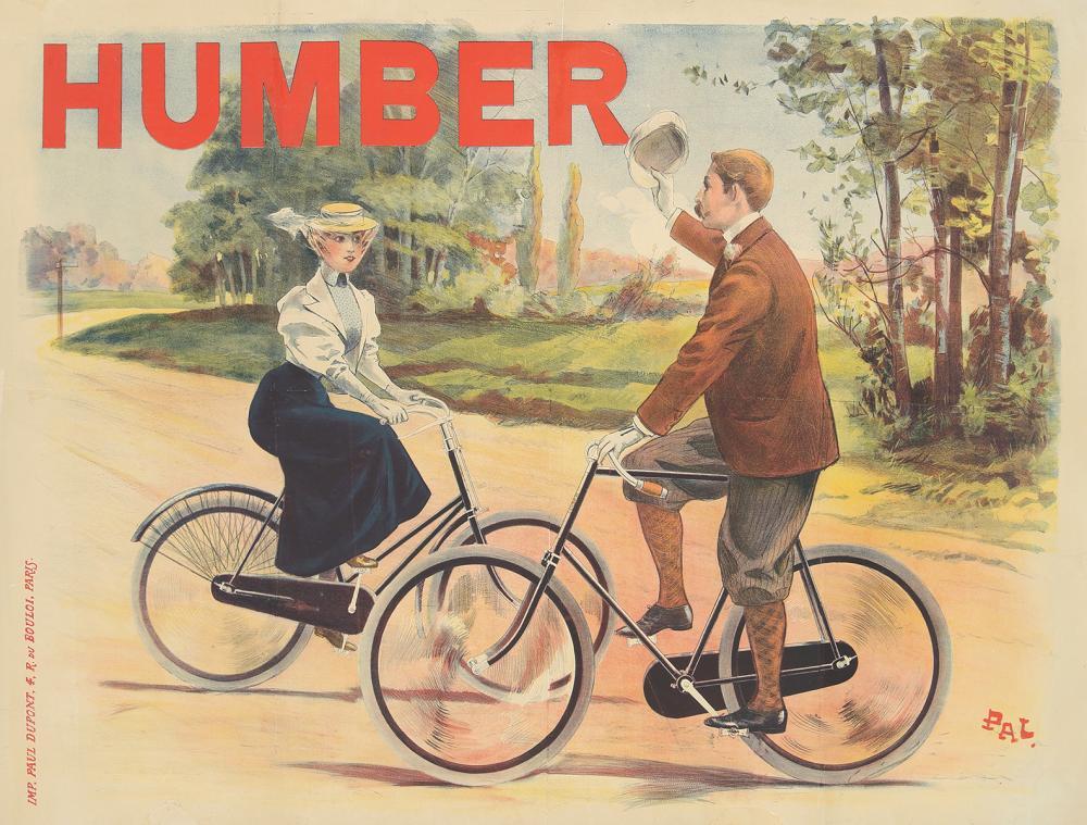 Humber Cycles. ca. 1897.