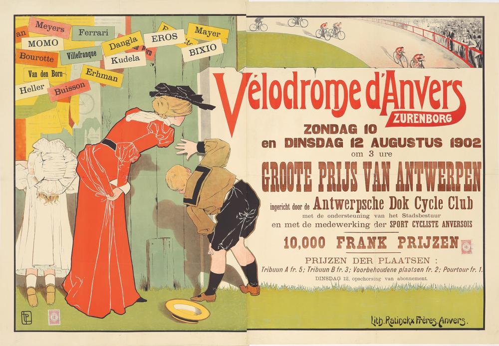 Velodrome d'Anvers. 1902.