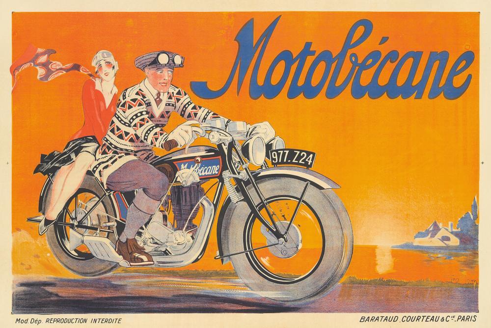 Motobécane. 1929.
