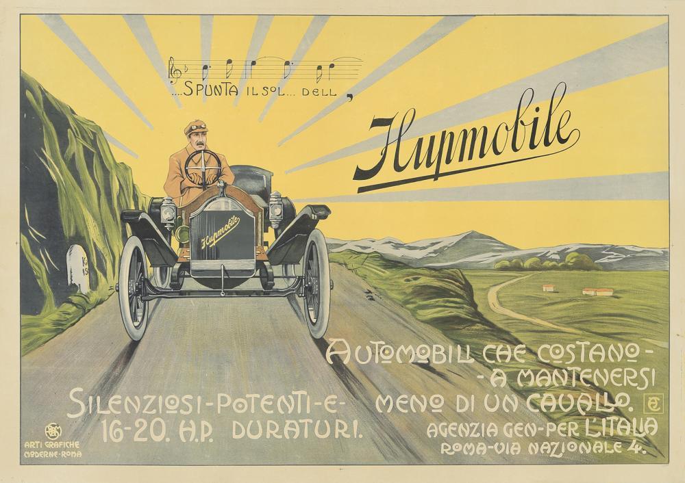 Hupmobile. ca. 1909.