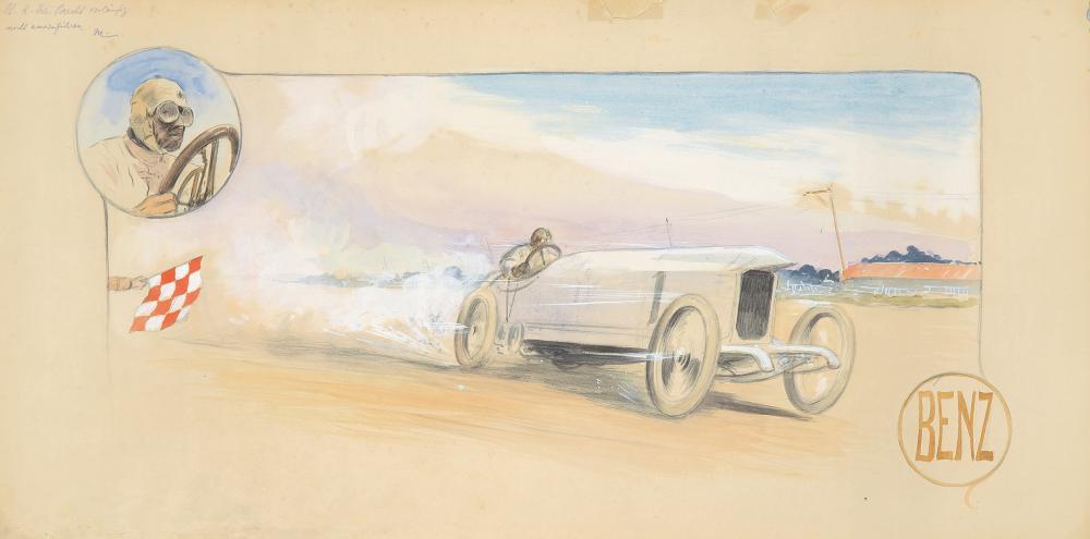 Benz : Maquette. 1911.