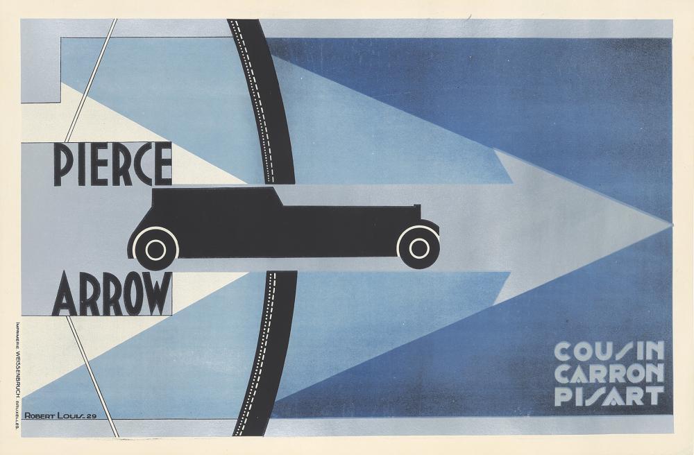 Pierce Arrow. 1929.