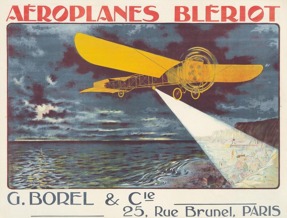 Aéroplanes Blériot. 1910.