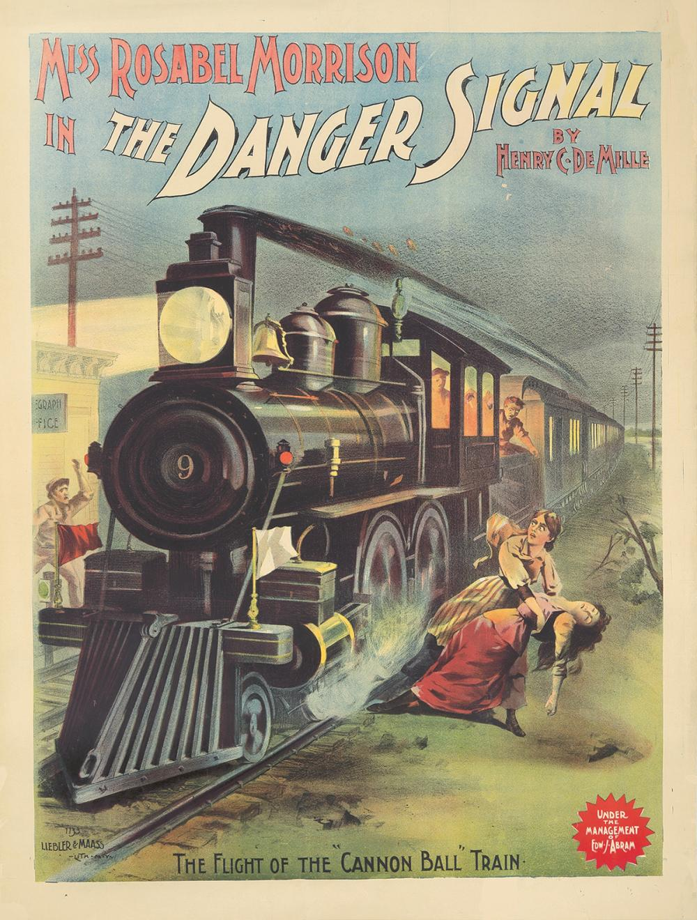 The Danger Signal. ca. 1891.