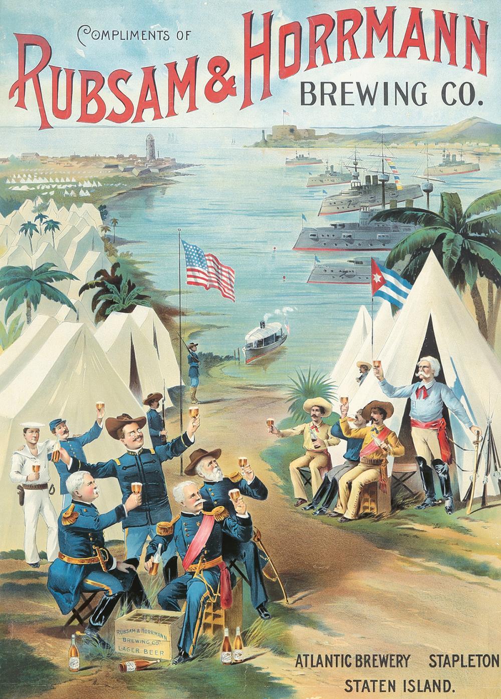 Rubsam & Horrmann Brewing Co. ca. 1900.