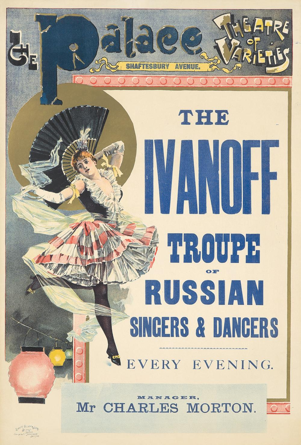 Palace Theatre / Ivanoff Troupe. ca. 1903.