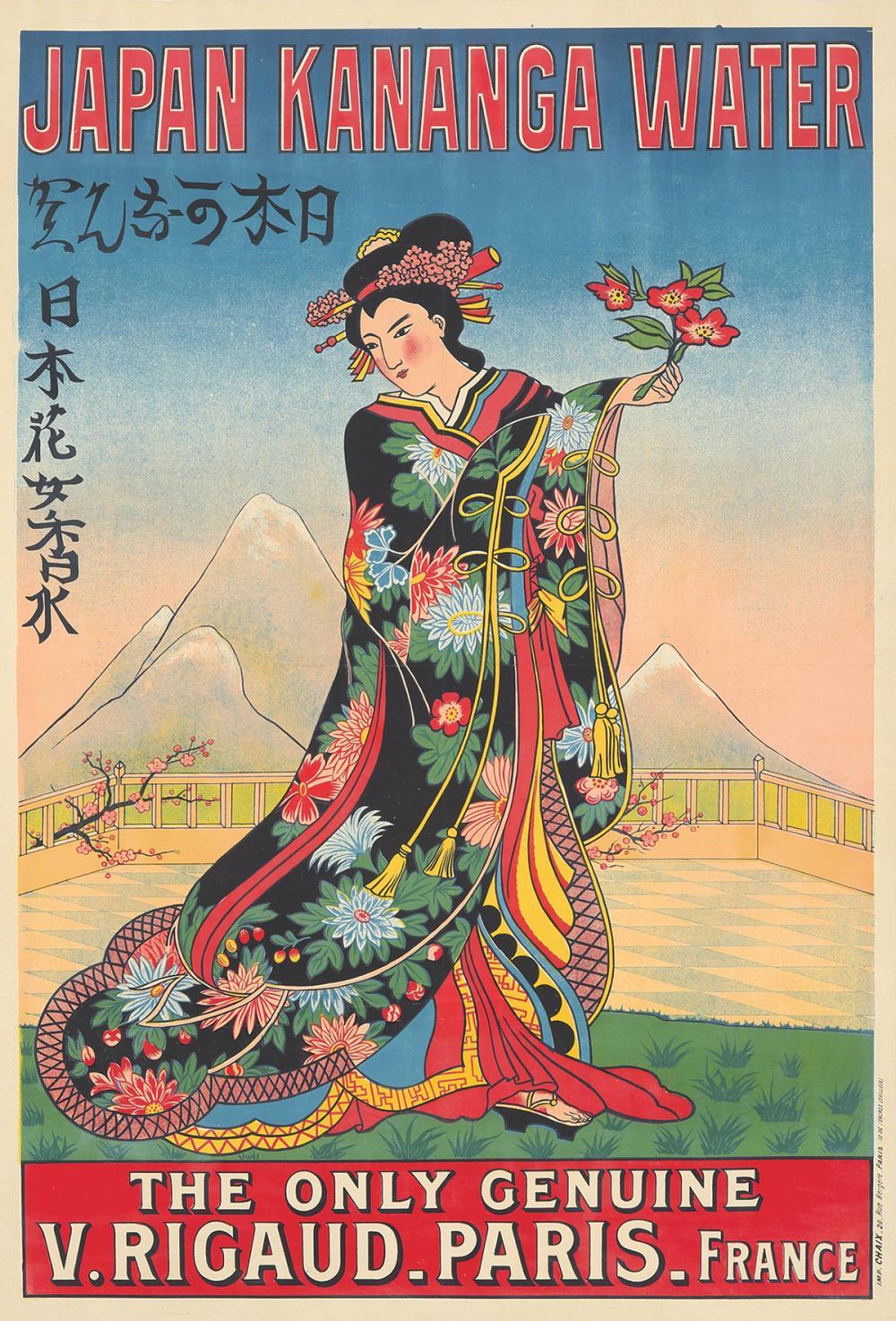 Japan Kananga Water. 1907.