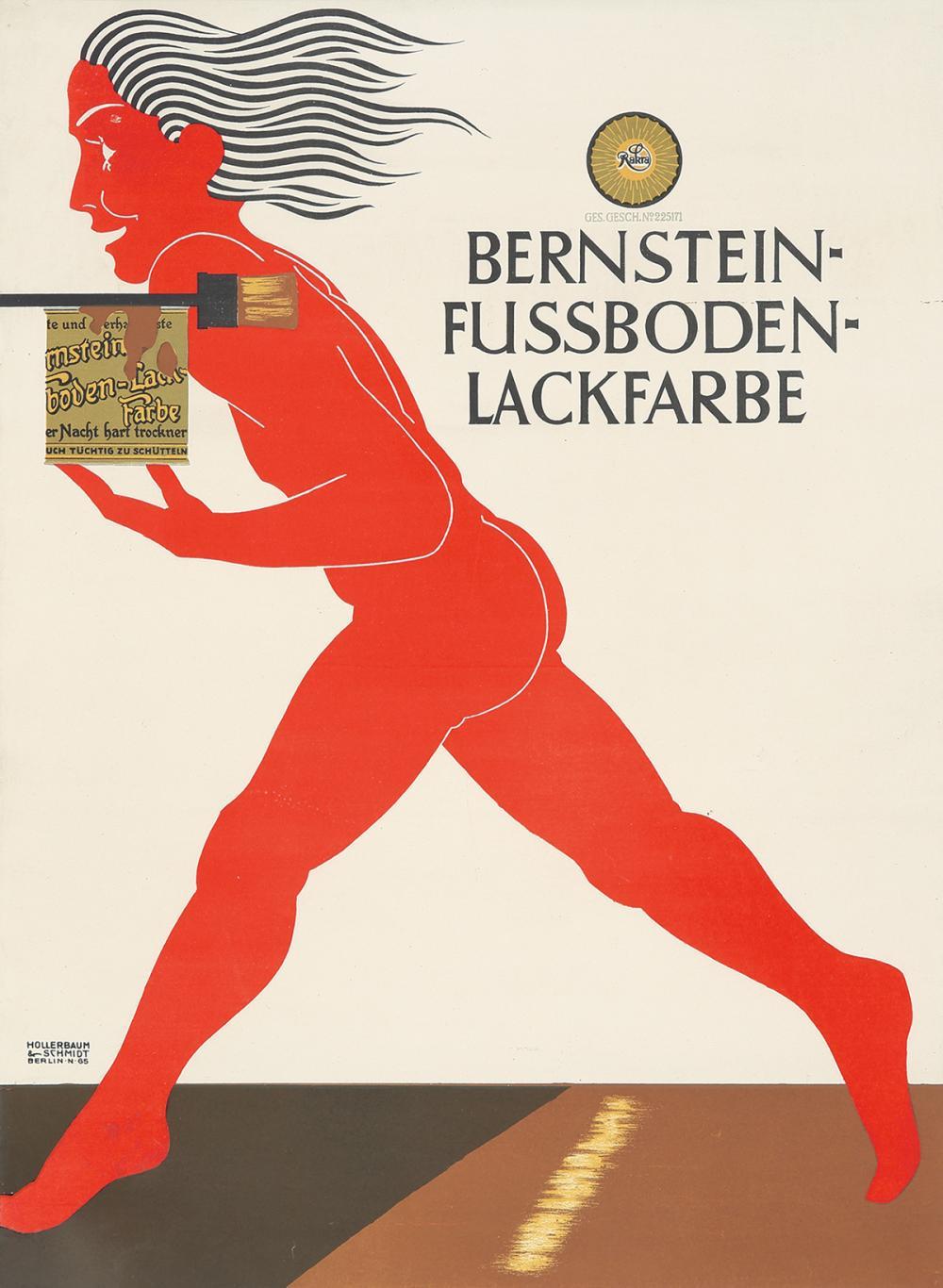 Bernstein-Fussboden-Lackfarbe.