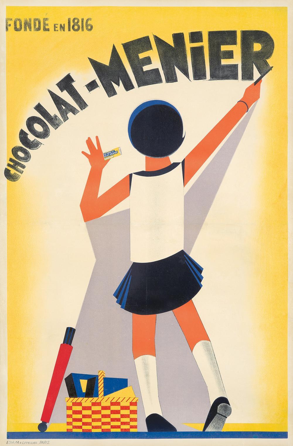 Chocolat-Menier. ca. 1930.