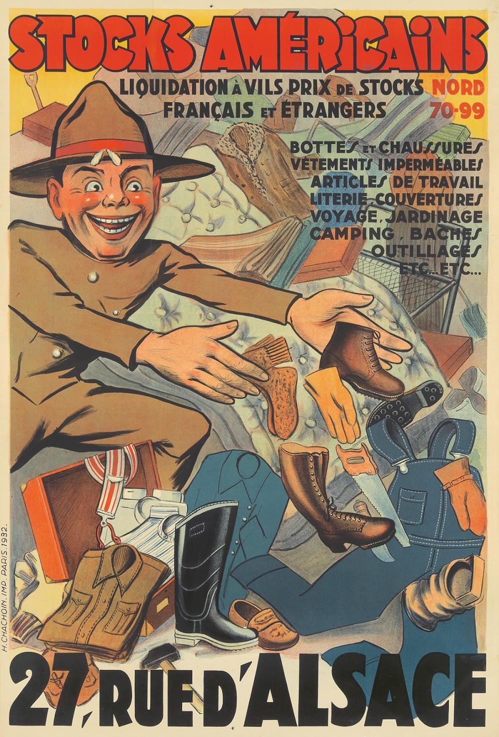 Stocks Américains. 1932.