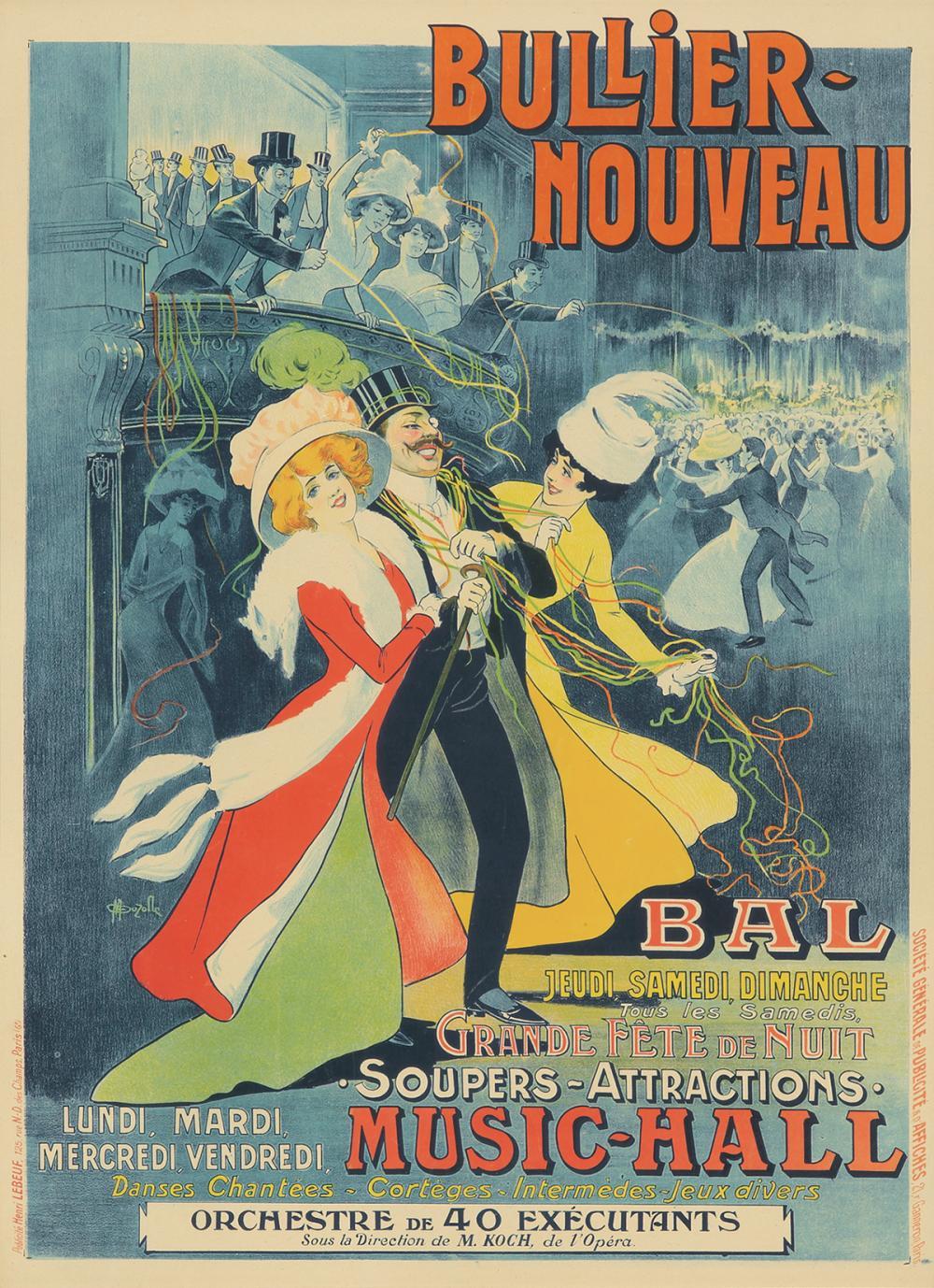 Bullier-Nouveau / Bal.