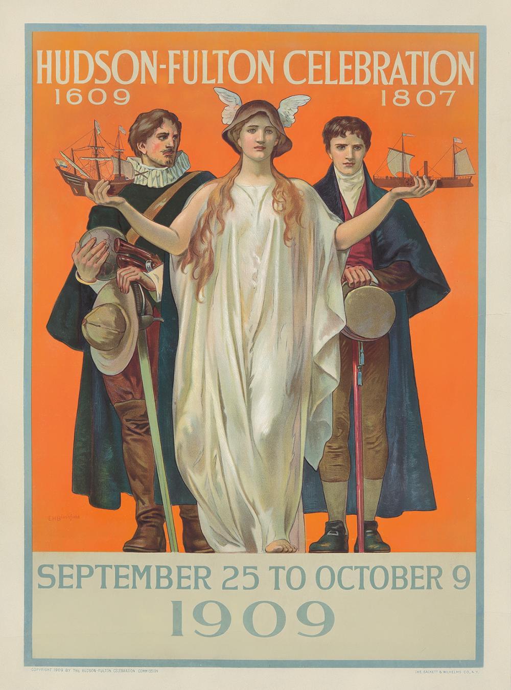 Hudson-Fulton Celebration. 1909.