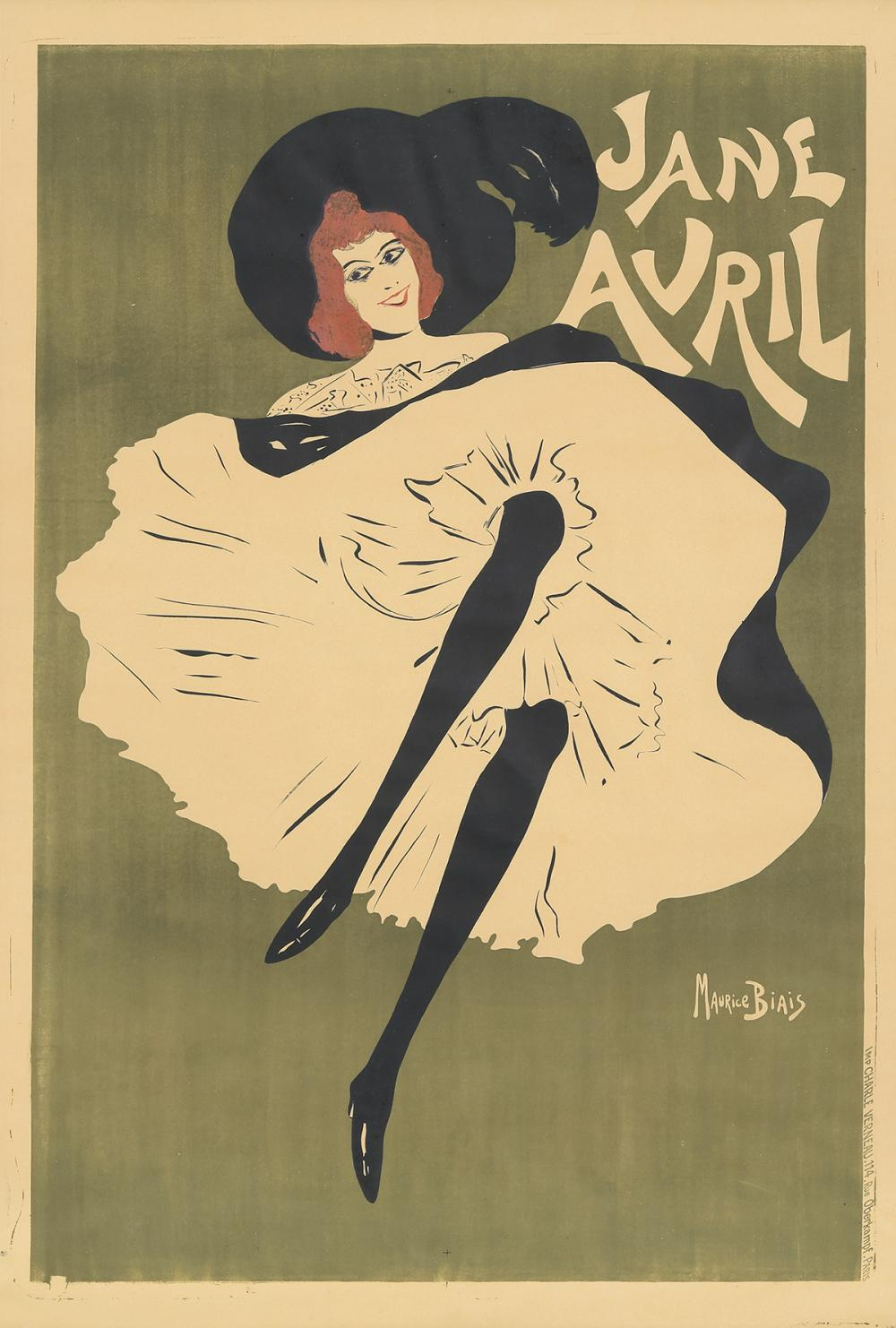 Jane Avril. 1895.