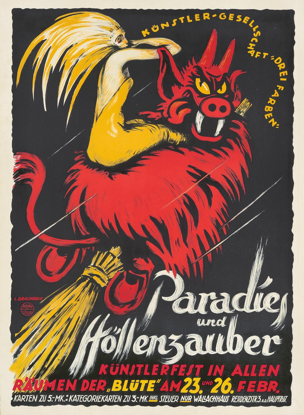 Paradies und Höllenzauber. ca. 1930.