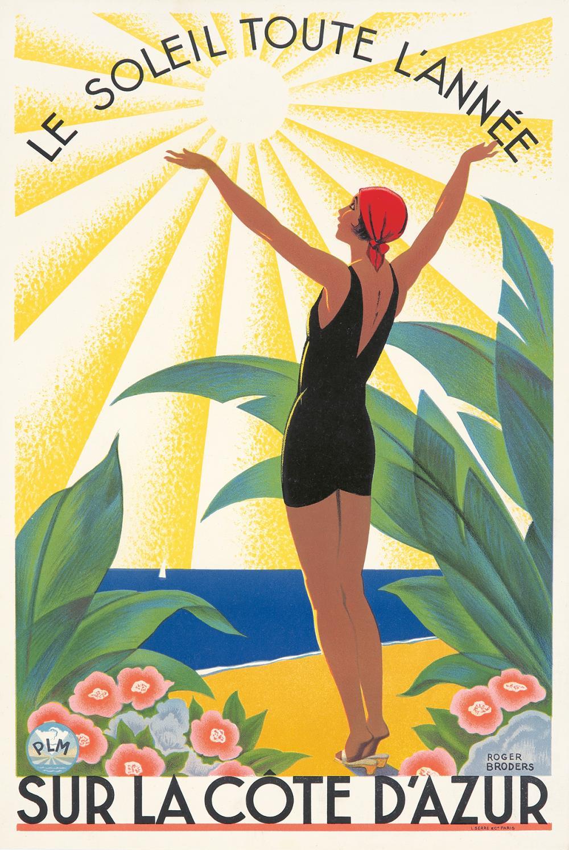 Côte d'Azur / Le Soleil Toute l'Année. 1931.