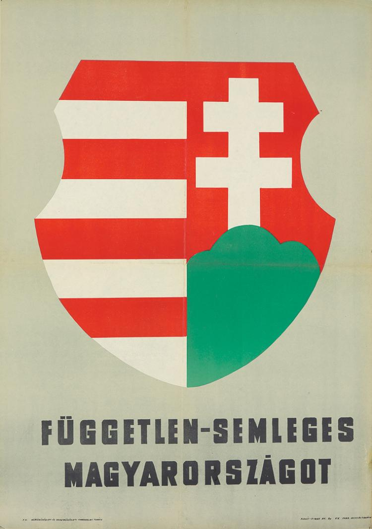 An Independent-Neutral Hungary. 1956.