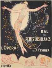 Bal des Petits Lits Blancs à L'Opéra. 1928.
