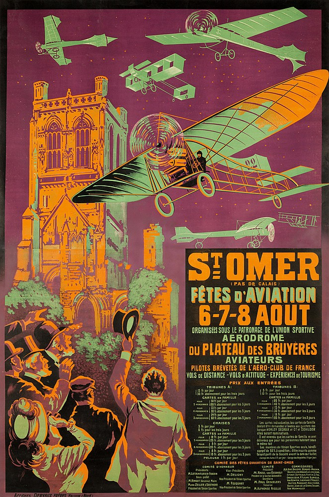 Saint-Omer / Fêtes d'Aviation. 1910