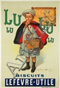 Biscuits Lefèvre-Utile / Lu-Lu. 1897