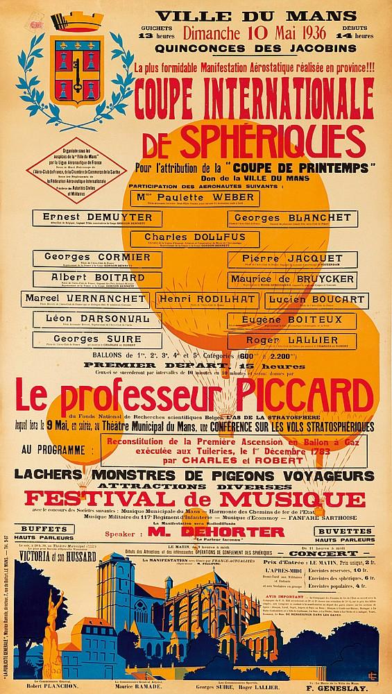 Coupe Internationale de Sphériques. 1936