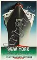 Normandie / New York. 1935